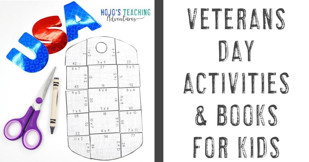 medium resolution of Veterans Day Activities \u0026 Books for Kids - Hojo's Teaching