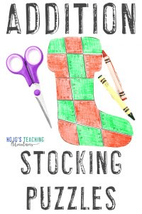 Click to get your own addition stocking activities for kids!