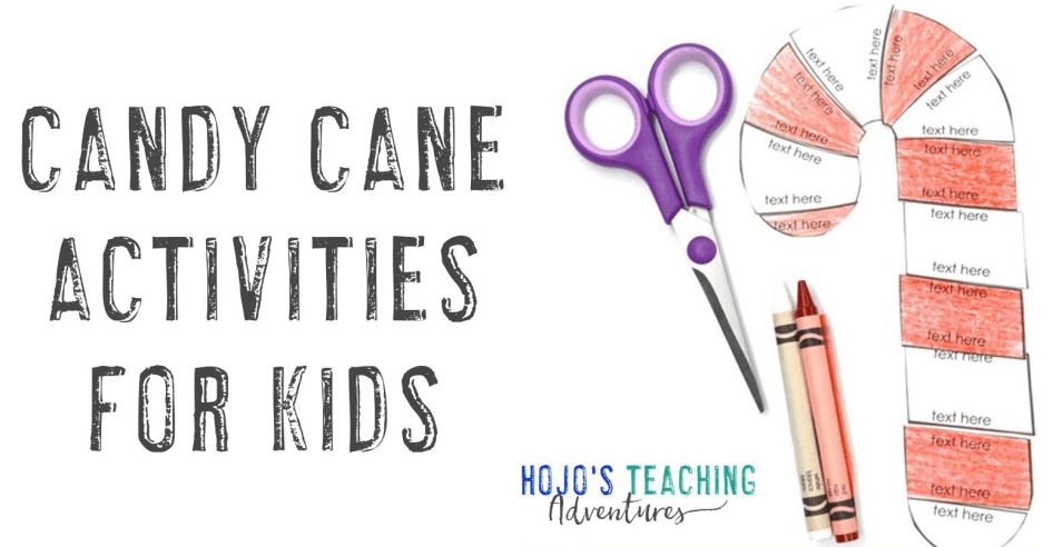 Candy Cane Activities For Kids