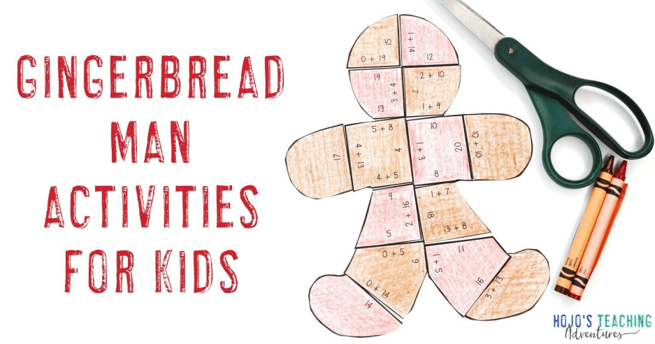 Gingerbread Activities & Books for Kids