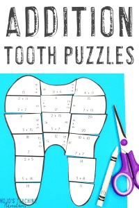 Get your ADDITION Dental Health Month puzzles here!