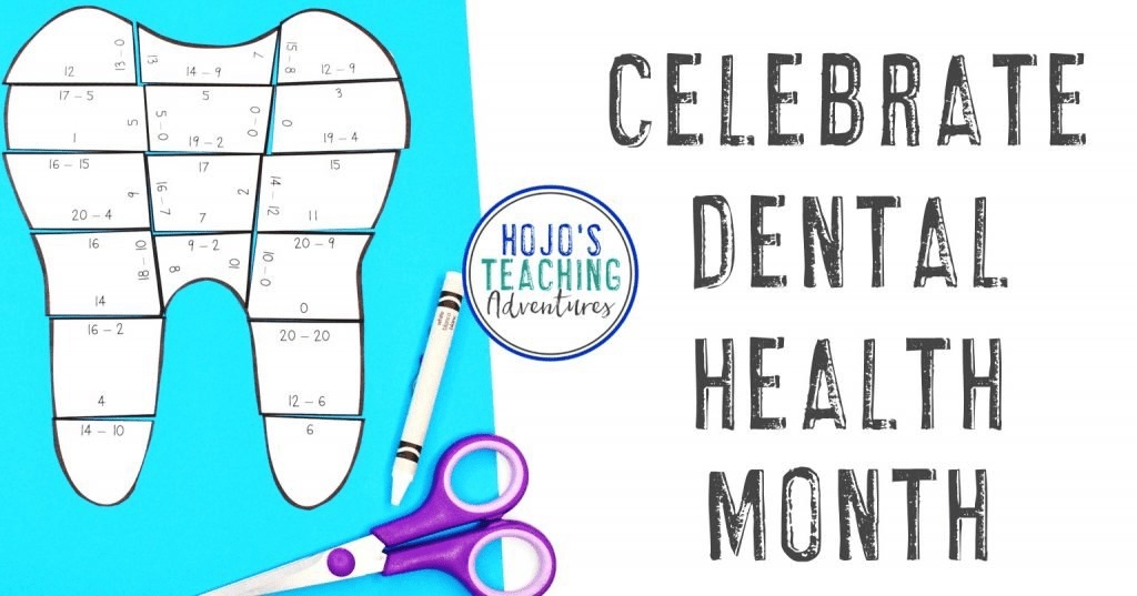 Dental Health Month Activities for 1st-8th Grade