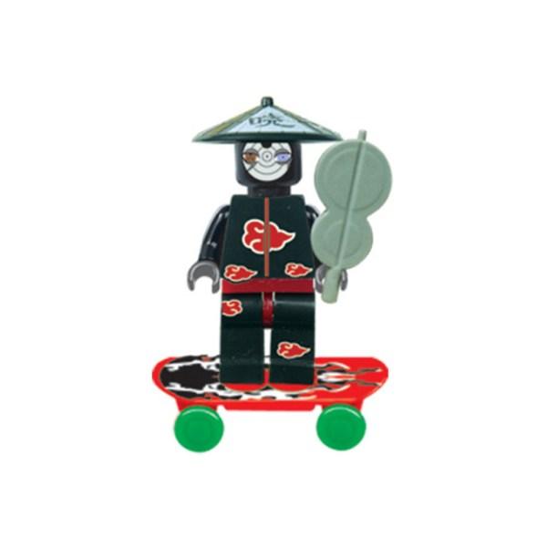6 Pcs Naruto Shippuden Ninja Mini Figures - Free Shipping