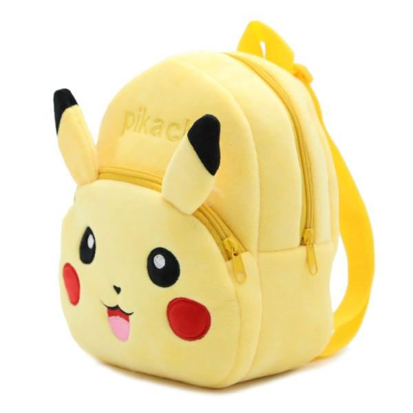 Pokemon Pikachu Kawaii Plush Backpack