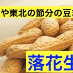 北海道や東北は節分の豆まきは大豆じゃない?落花生を使うのはなぜ?理由は?