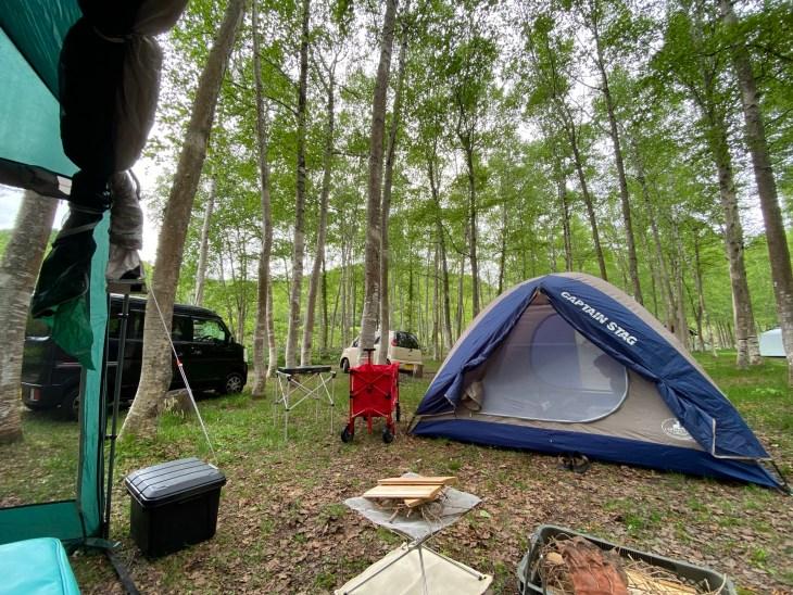 赤井川村のキャンプ場へ行きました/AKAIGAWA TOMO PLAYPARKキャンプフィールド(旧ドローム)