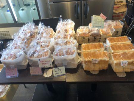 角食キューブの食パン