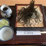 石狩のそば屋さん【瑞祥庵】/白濁のそば湯が美味しぎた!