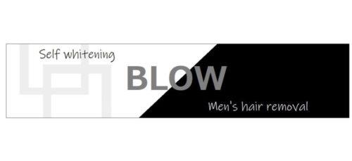 BLOWのロゴ メンズ脱毛