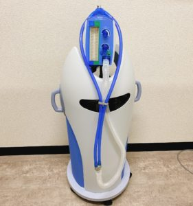 ゴリラクリニックの笑気麻酔の機械