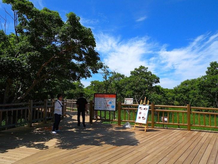 知床五湖・高架木道入口