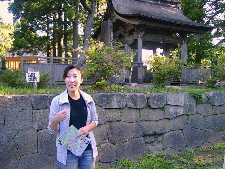 「温泉旅館矢野」の若女将、杉本夏子さん