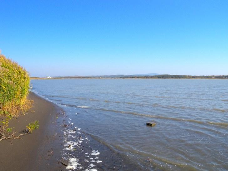 石狩川の川辺に降り立てば大河のイメージがつかめます