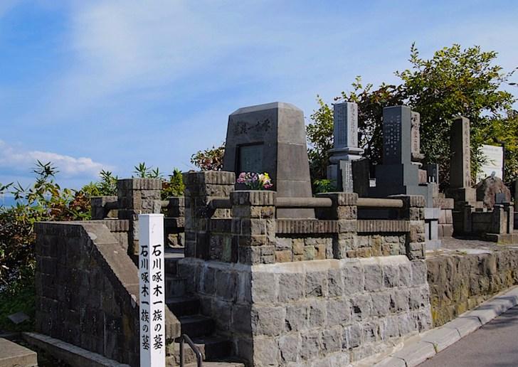 石川啄木一族の墓
