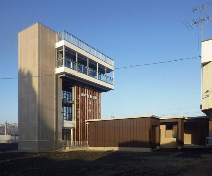 新幹線展望塔