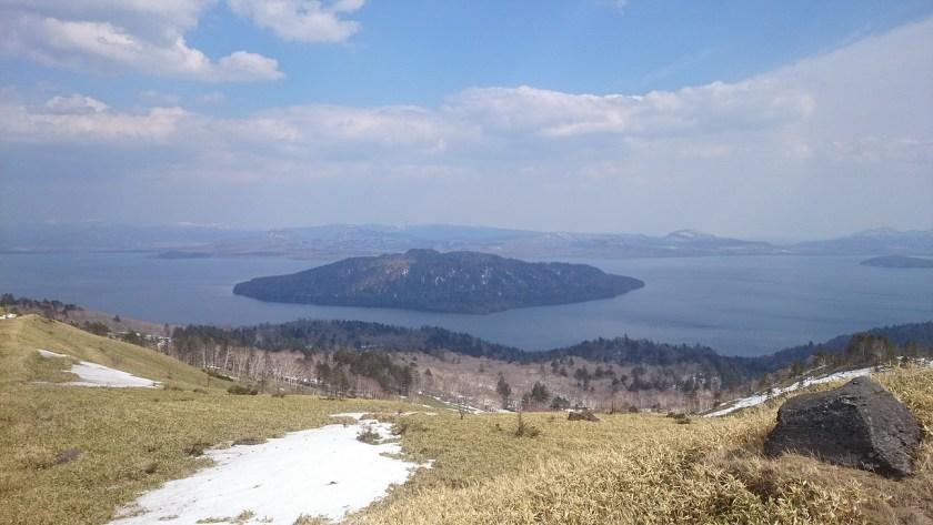 美幌峠より屈斜路湖