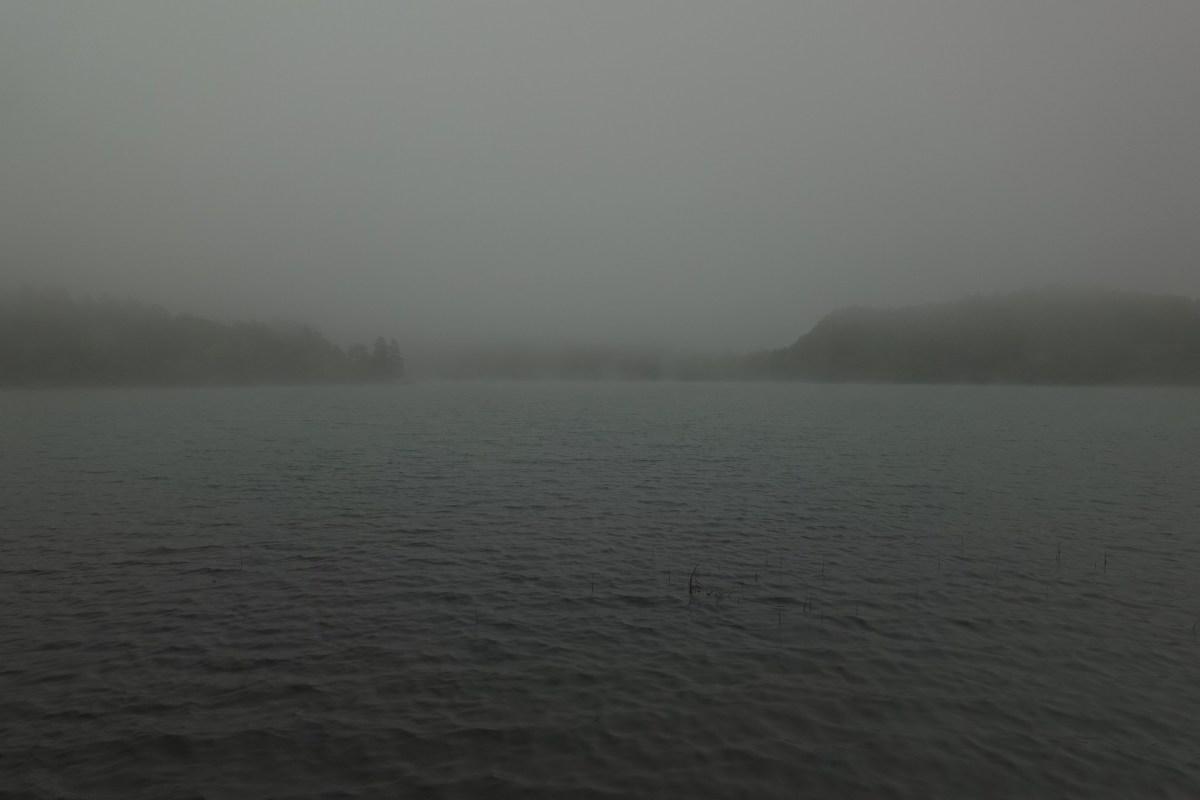 霧のオンネトー