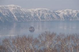 暖かな摩周湖外輪
