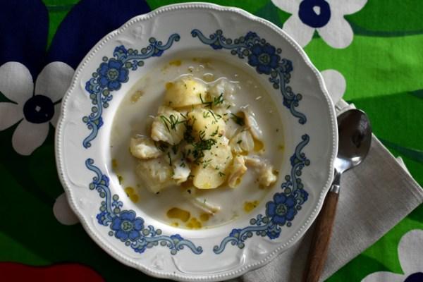 聖ウルホの日のフィンランド風フィッシュスープ Kala Mojakka