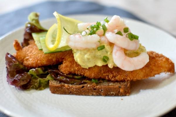 【モニター企画】白菜漬けのレムラードソースとフィッシュフライのオープンサンド