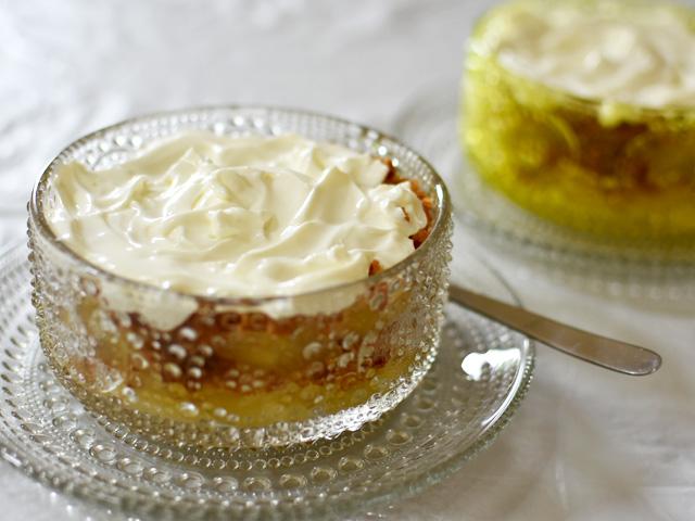 【モニター企画】ヨーグルトクリームでデンマークのアップルケーキ