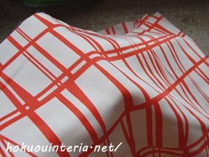 北欧の生地で手作りカーテン