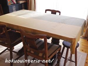 ダイニングテーブル模様替えIMGP0884-001