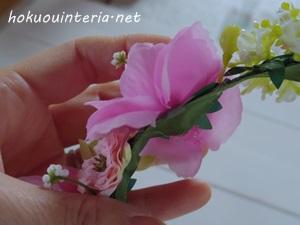 花かんむりのカチューシャ