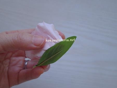 プリザで花かんむりを作る方法