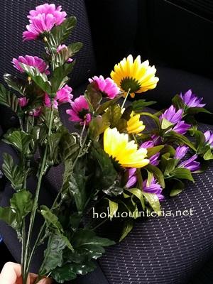 お供え花の作り方