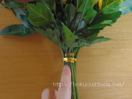 仏花の束ね方