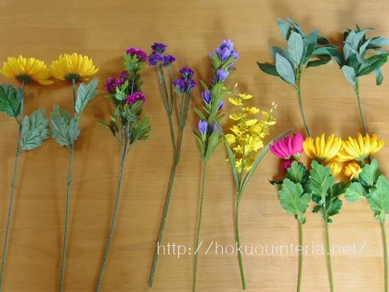 お墓に備える造花