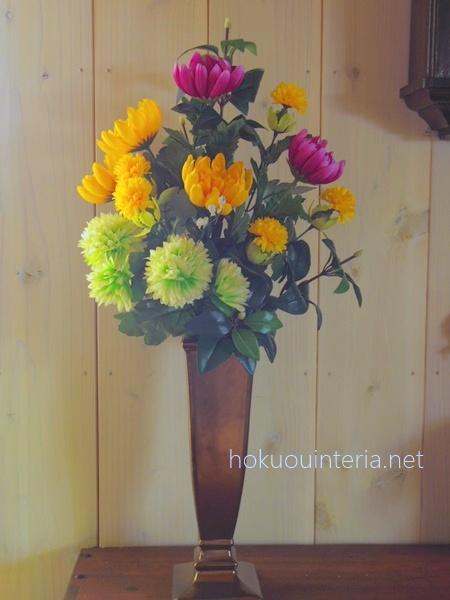 お墓に備える花造花
