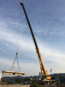 福田川河川改修工事 北都建設