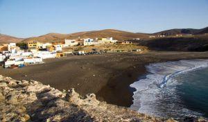 Blick auf den Strand von Ajuy