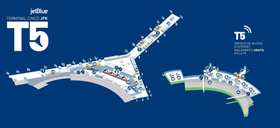 JetBlue  T5 en JFK