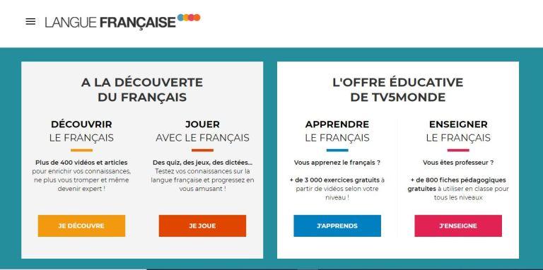 學法文 :langue français