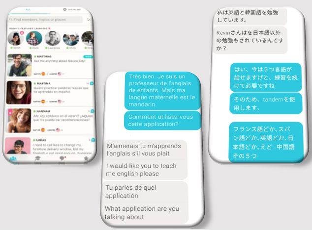 外語學習平台 tandem