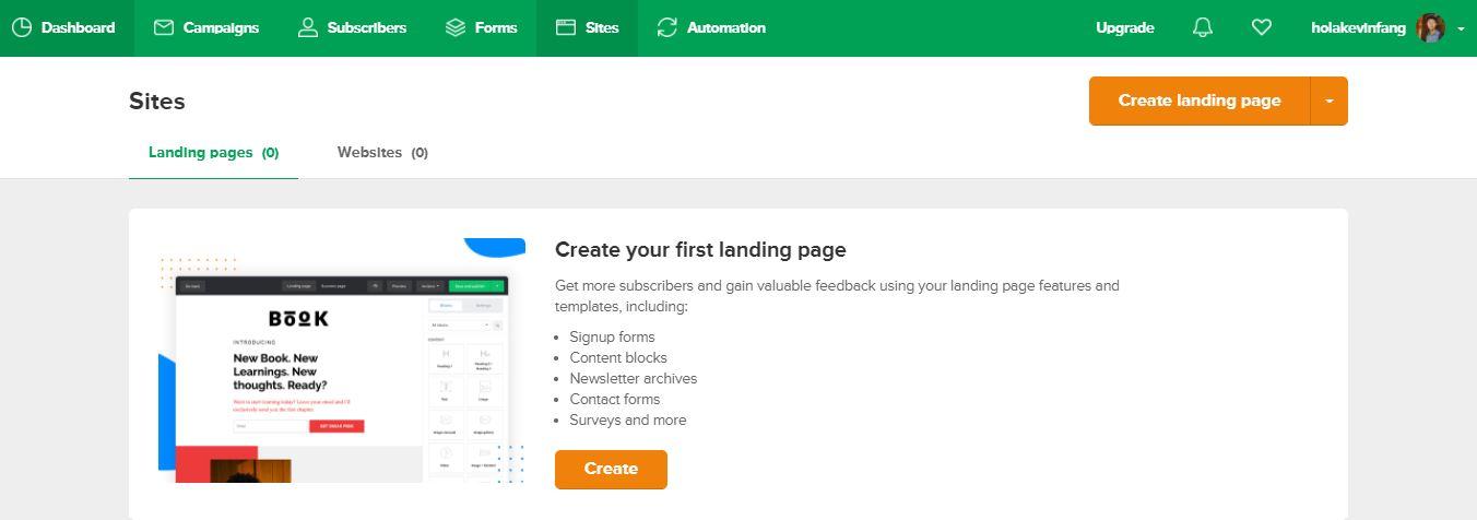 製作 Landing Page 0
