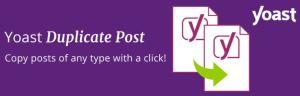 WordPress 外掛推薦 yoast duplicate