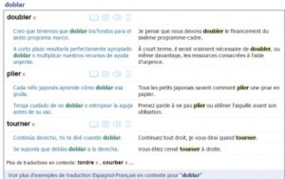 Traduction doblar reverso