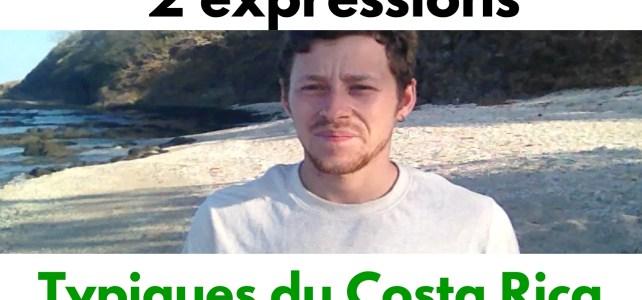 Vidéo: 2 expressions espagnoles typiques du Costa Rica