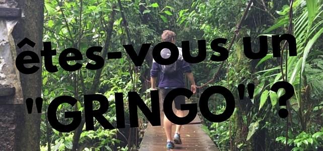 Etes-vous un GRINGO ?!