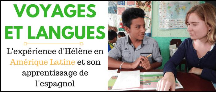 Voyages et langues