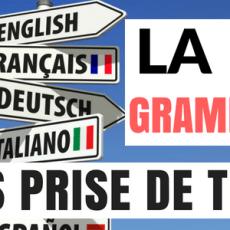 Comment apprendre les règles de grammaire d'une langue sans prise de tête..?