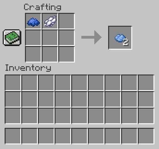 How to Make Light Blue Dye in Minecraft