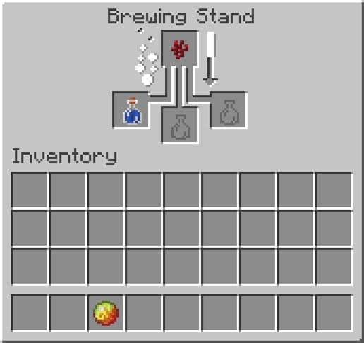 How to Make a Fire Resistance Potion in Minecraft