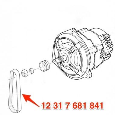 alternator belt for BMW R1150GS/Adv