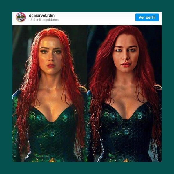 Il ressemblerait donc à Emilia Clarke comme Mera «Aquaman 2»