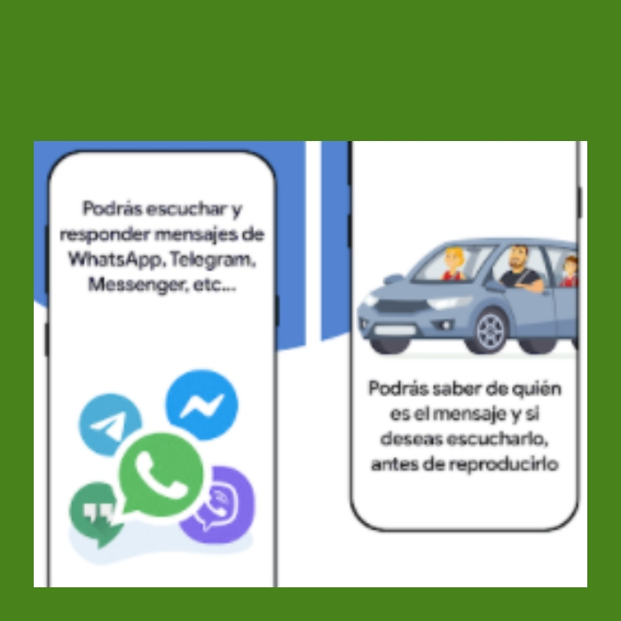la app que contesta tus whatsapp por ti mientras conduces
